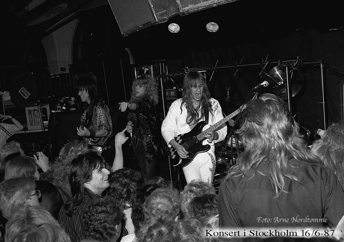 Konsert i Stckh.   16/6 -87